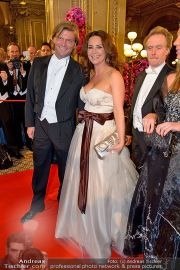 Opernball Feststiege - Staatsoper - Do 07.02.2013 - 74