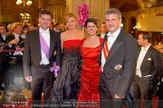 Opernball Feststiege - Staatsoper - Do 07.02.2013 - 81