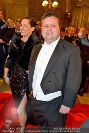 Opernball Feststiege - Staatsoper - Do 07.02.2013 - 89