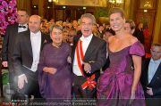 Opernball Feststiege - Staatsoper - Do 07.02.2013 - 94