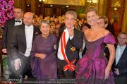 Opernball Feststiege - Staatsoper - Do 07.02.2013 - 95