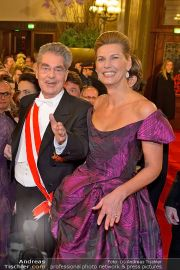 Opernball Feststiege - Staatsoper - Do 07.02.2013 - 97