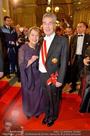 Opernball Feststiege - Staatsoper - Do 07.02.2013 - 98