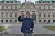 Tom Cruise Fototermin - Belvedere - Di 02.04.2013 - 12