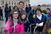 Tom Cruise Fototermin - Belvedere - Di 02.04.2013 - 22
