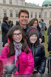 Tom Cruise Fototermin - Belvedere - Di 02.04.2013 - 23