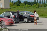 Lugners Muttertagsflug - Flughafen Vöslau - So 12.05.2013 - 2