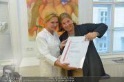 Zertifikat Übergabe - Ordination Wegrostek - Mo 23.09.2013 - 17