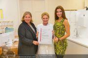 Zertifikat Übergabe - Ordination Wegrostek - Mo 23.09.2013 - 23