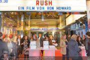 Rush Kinopremiere - Gartenbaukino - Mo 30.09.2013 - 14