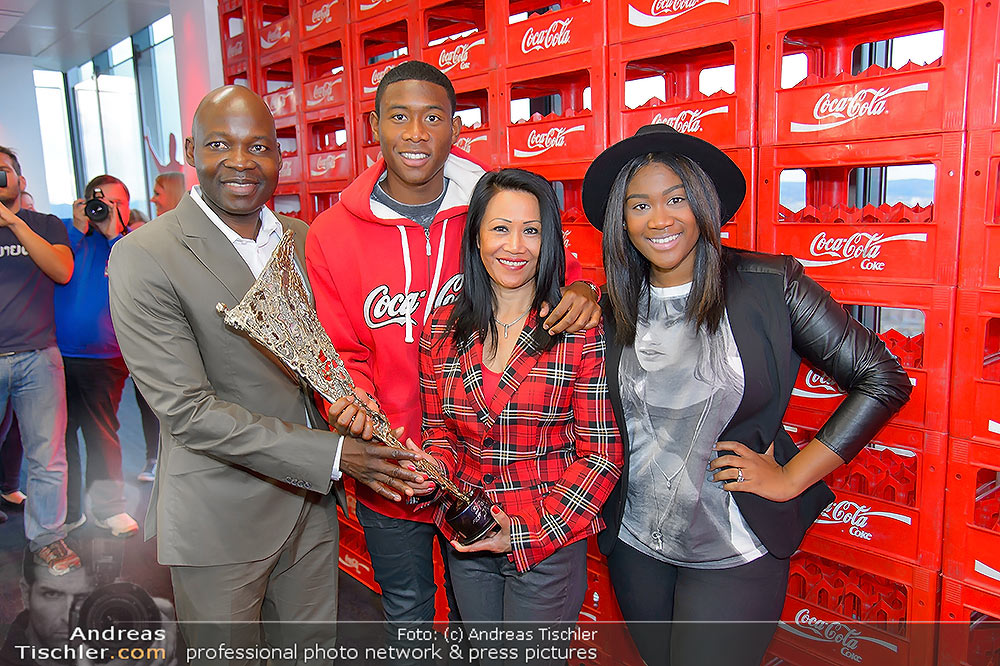 David Alaba Coca Cola Twin Towers So 10112013