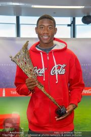 David Alaba Coca Cola - Twin Towers - So 10.11.2013 - 3