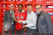 David Alaba Coca Cola - Twin Towers - So 10.11.2013 - 66