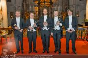 Trumpets in Concert - Minoritenkirche - Mi 18.12.2013 - 1