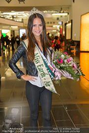 Ankunft Miss Earth - Flughafen - Fr 20.12.2013 - 10