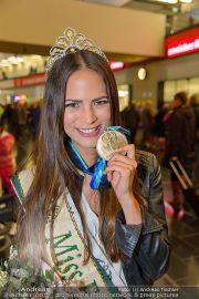 Ankunft Miss Earth - Flughafen - Fr 20.12.2013 - 12