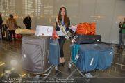 Ankunft Miss Earth - Flughafen - Fr 20.12.2013 - 13