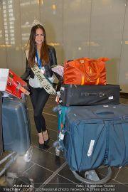 Ankunft Miss Earth - Flughafen - Fr 20.12.2013 - 14