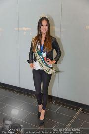 Ankunft Miss Earth - Flughafen - Fr 20.12.2013 - 16