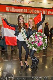 Ankunft Miss Earth - Flughafen - Fr 20.12.2013 - 7