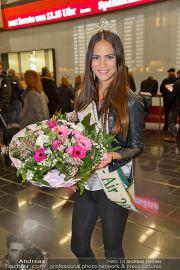 Ankunft Miss Earth - Flughafen - Fr 20.12.2013 - 9