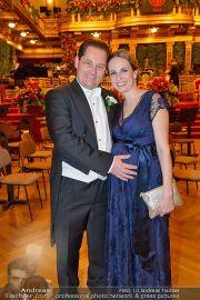 Philharmonikerball - Musikverein - Do 23.01.2014 - 12
