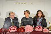 Opernball PK - Staatsoper - Di 28.01.2014 - 45