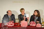 Opernball PK - Staatsoper - Di 28.01.2014 - 47
