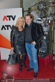 ATV Wien bei Nacht - Lugner Kinocity - Mi 12.02.2014 - 19
