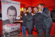 Tricky Niki Premiere - Kabarett Simpl - Di 18.02.2014 - Tricky NIKI mit Manager-Team (u.a. Bernhard MURG)69