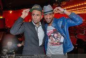 Tricky Niki Premiere - Kabarett Simpl - Di 18.02.2014 - Eric PAPILAYA, Fadi MERZA7