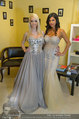 Lugner Ballkleid Anprobe - Modehaus prominent - Di 18.02.2014 - Nina Bambi BRUCKNER6