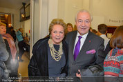Premiere ´Besuch der alten Dame´ - Ronacher - Mi 19.02.2014 - Ingeborg Mausi und Harald SERAFIN13