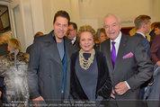 Premiere ´Besuch der alten Dame´ - Ronacher - Mi 19.02.2014 - Familie Ingeborg Mausi und Harald SERAFIN mit Sohn Daniel14