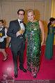 Kaffeesiederball 2014 - Hofburg, Wien - Fr 21.02.2014 - Annely PEEBO mit Ehemann Sascha18