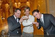 Opernball Probe - Staatsoper - So 23.02.2014 - Desiree TREICHL-ST�RGKH, Maximilian FASSLABEND,Julian GR�NBERG1