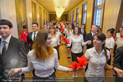 Opernball Probe - Staatsoper - So 23.02.2014 - Tanzpaare, Probe4