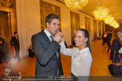 Opernball Probe - Staatsoper - So 23.02.2014 - Alexander PR�LL, Weronika PILUS6