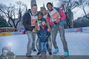 SuperFit - Rathausplatz - Mi 26.02.2014 - Alex LiST, Fadi MERZA mit Neffe Georg, Sylvia GRAF, Alamande BEL12