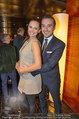 Big Opening - DC Tower 1 Melia Hotel Vienna - Mi 26.02.2014 - Tanja DUHOVIC (schwanger) mit Freund Stergio PRAPAS169
