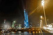 Big Opening - DC Tower 1 Melia Hotel Vienna - Mi 26.02.2014 - DC Tower 1 von au�en bei Nacht, Reichsbr�cke-Blick306