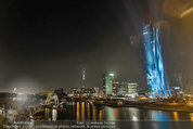 Big Opening - DC Tower 1 Melia Hotel Vienna - Mi 26.02.2014 - DC Tower 1 von au�en bei Nacht, Reichsbr�cke-Blick309