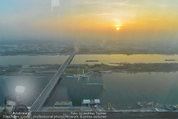 Big Opening - DC Tower 1 Melia Hotel Vienna - Mi 26.02.2014 - Blick vom DZ Tower, Freideck 58. Stock7