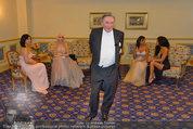 Vor dem Ball - Sacher und Grand Hotel - Do 27.02.2014 - Richard LUGNER1