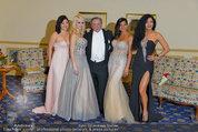 Vor dem Ball - Sacher und Grand Hotel - Do 27.02.2014 - Crazy Cathy SCHMITZ10