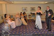 Vor dem Ball - Sacher und Grand Hotel - Do 27.02.2014 - 15