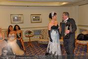Vor dem Ball - Sacher und Grand Hotel - Do 27.02.2014 - 16