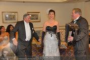 Vor dem Ball - Sacher und Grand Hotel - Do 27.02.2014 - Richard LUGNER20