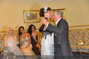 Vor dem Ball - Sacher und Grand Hotel - Do 27.02.2014 - Richard LUGNER21