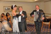 Vor dem Ball - Sacher und Grand Hotel - Do 27.02.2014 - Richard LUGNER24